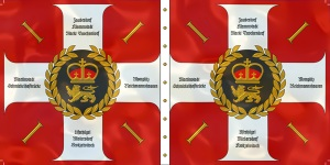 Regiment von Eintopf's regimental colours
